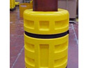 Plastic column buffer