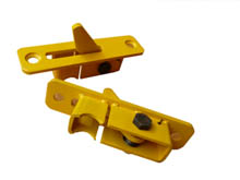 The safety non-penetration teeth/cassettes are designed to be easily replaced if damaged for easy 'on site' maintenance.