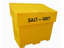 Our Grit Bins are a professional looking product with a proven long life service history. User-friendly design for easy filling and on site use.