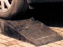 Both extra deep protectors have a solid rubber interlocking blocks and wedges to drive over safely.