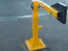 Safety traffic barrier