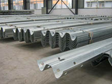 Galvanised steel crash barrier beams are made in huge quantities. The corrugated steel beams have become the standard for crash protection worldwide.