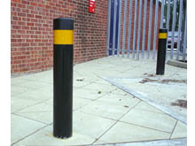 We have a large range of steel bollards to suit your site, please call 0121 446 4433 for more details.