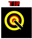 Target 'tip' icon